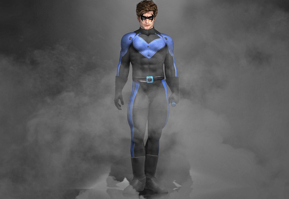 NighWing Texture for M4 Bodysuit