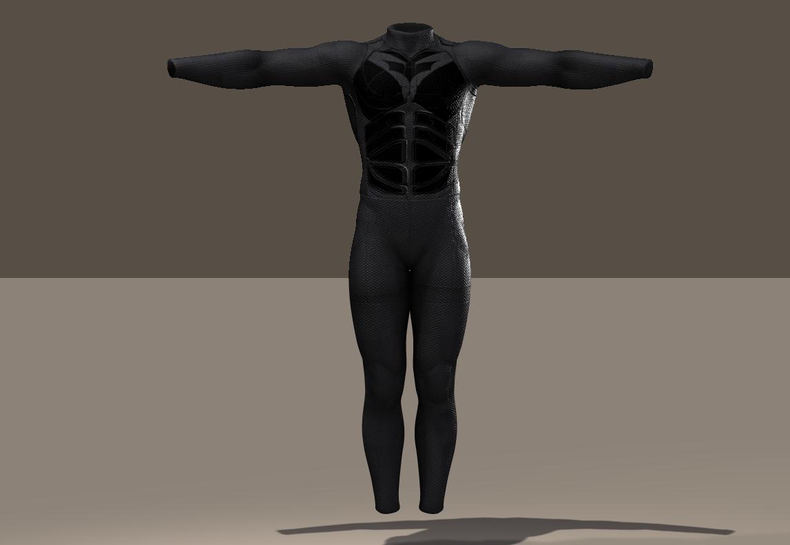 M4 Bodysuit Batman texture