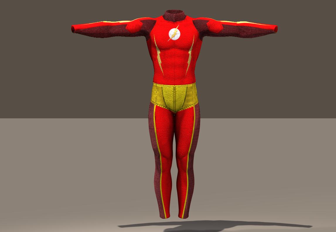 M4 Bodysuit Flash texture