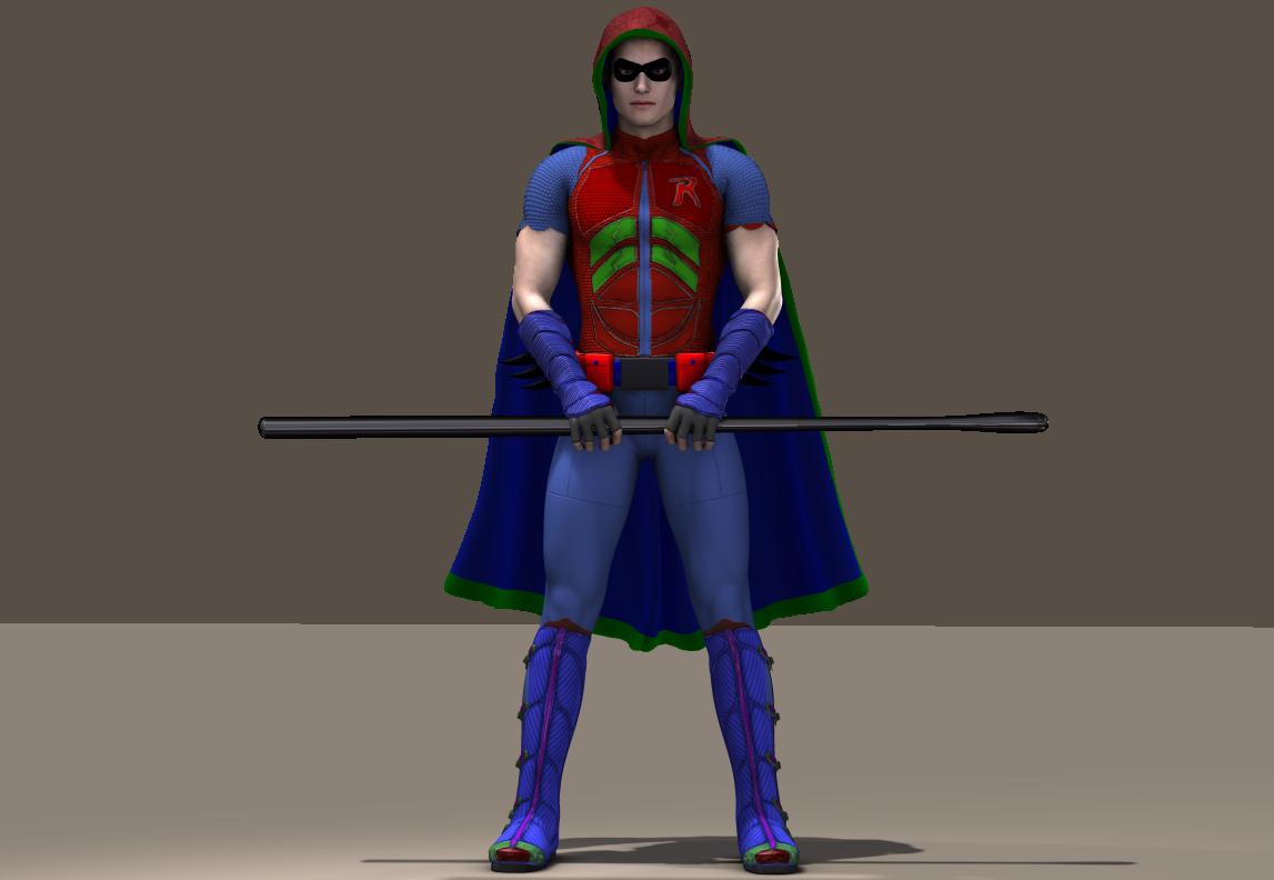 M4 Bodysuit Robin texture