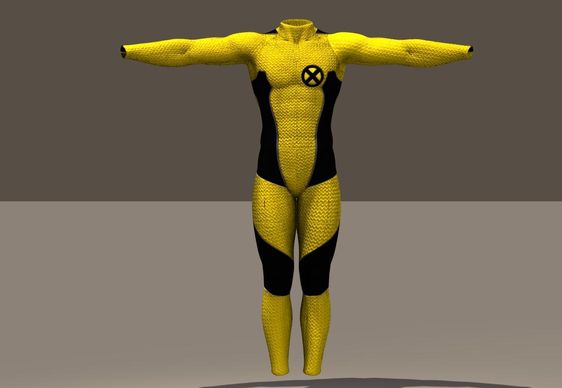 M4 Bodysuit Wolverine texture