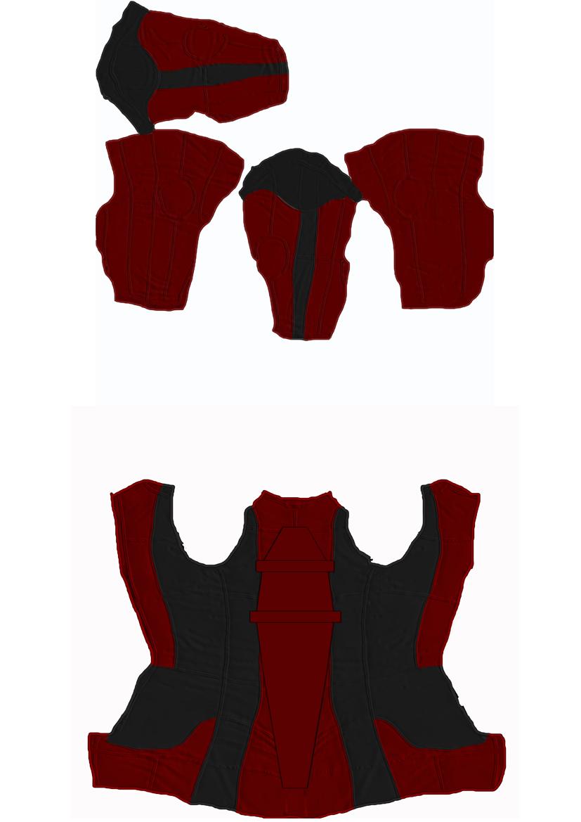 Deadpool M4 SkinBody texture