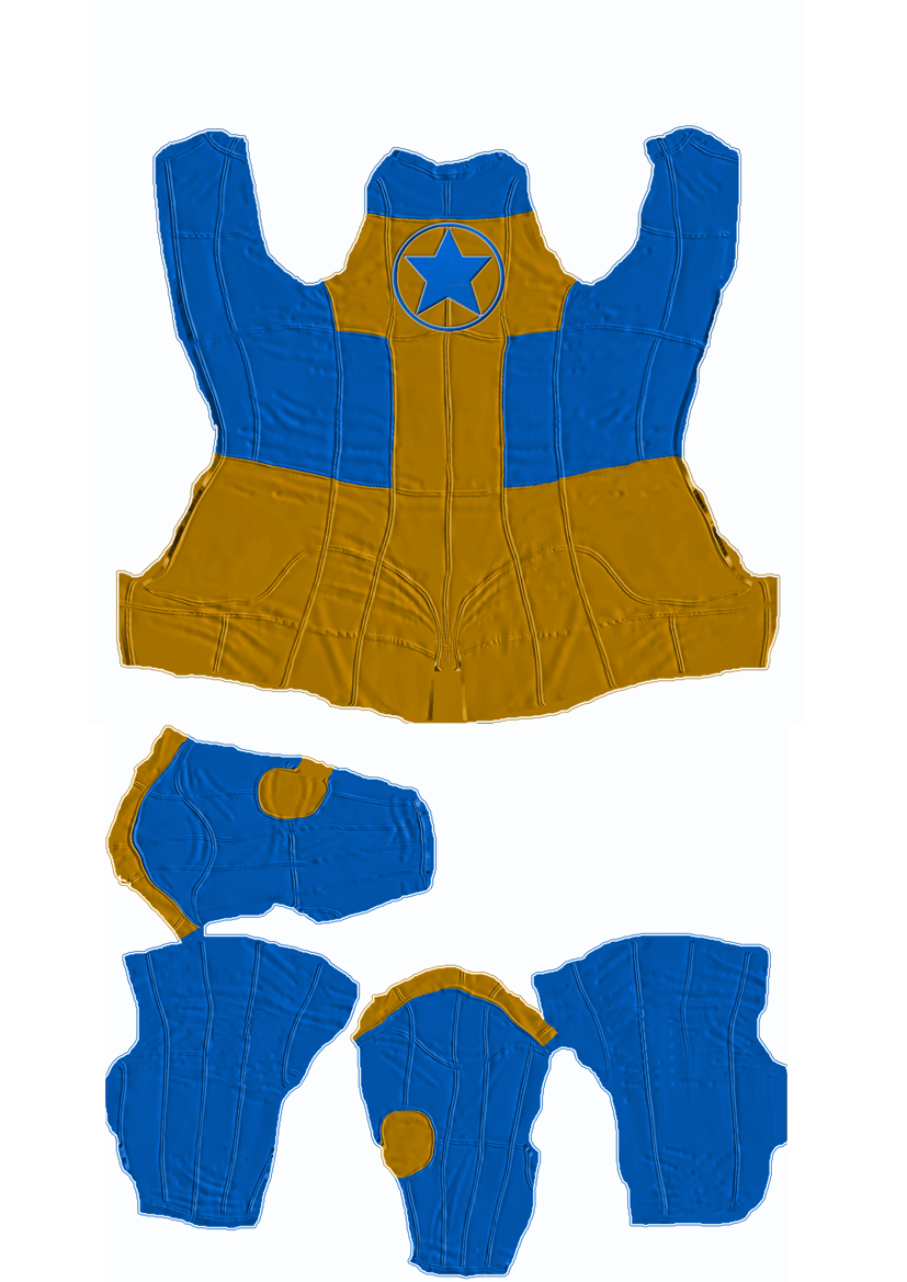 Booster Gold M4 Skinbody Textures