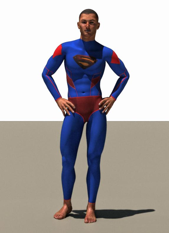 Superman second skin textures x M4
