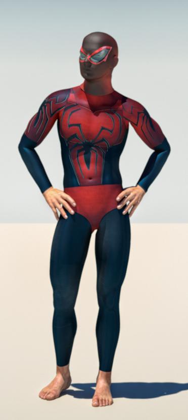 Spiderman second skin textures x M4