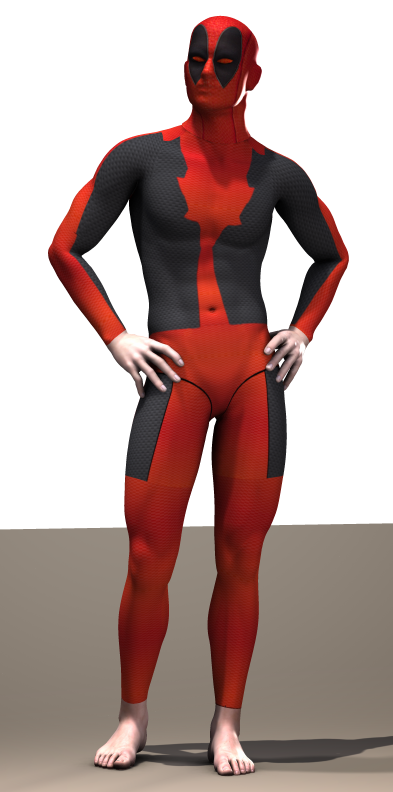 Deadpool secondskin textures x M4