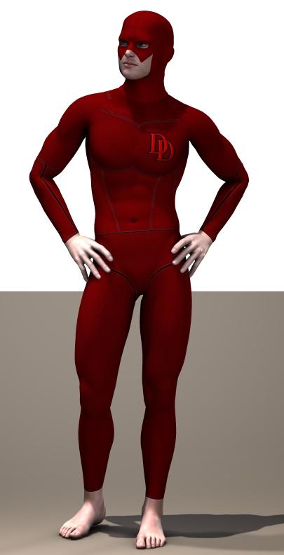 Daredevil  second skin textures x M4