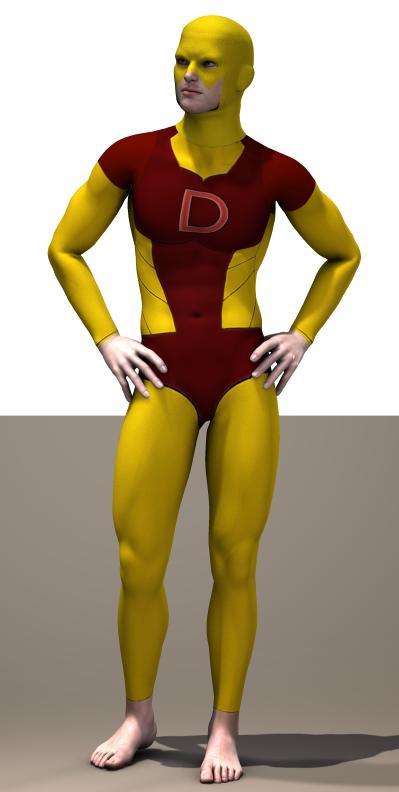 Daredevil classic  second skin textures x M4