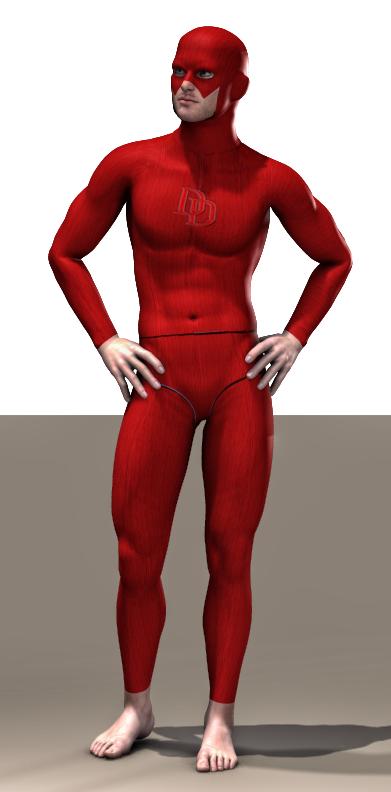 Daredevil 2 second skin textures x M4