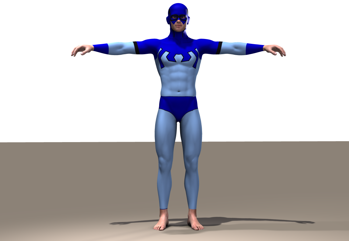 Blue Beetle M4 second skin textures by hiram67