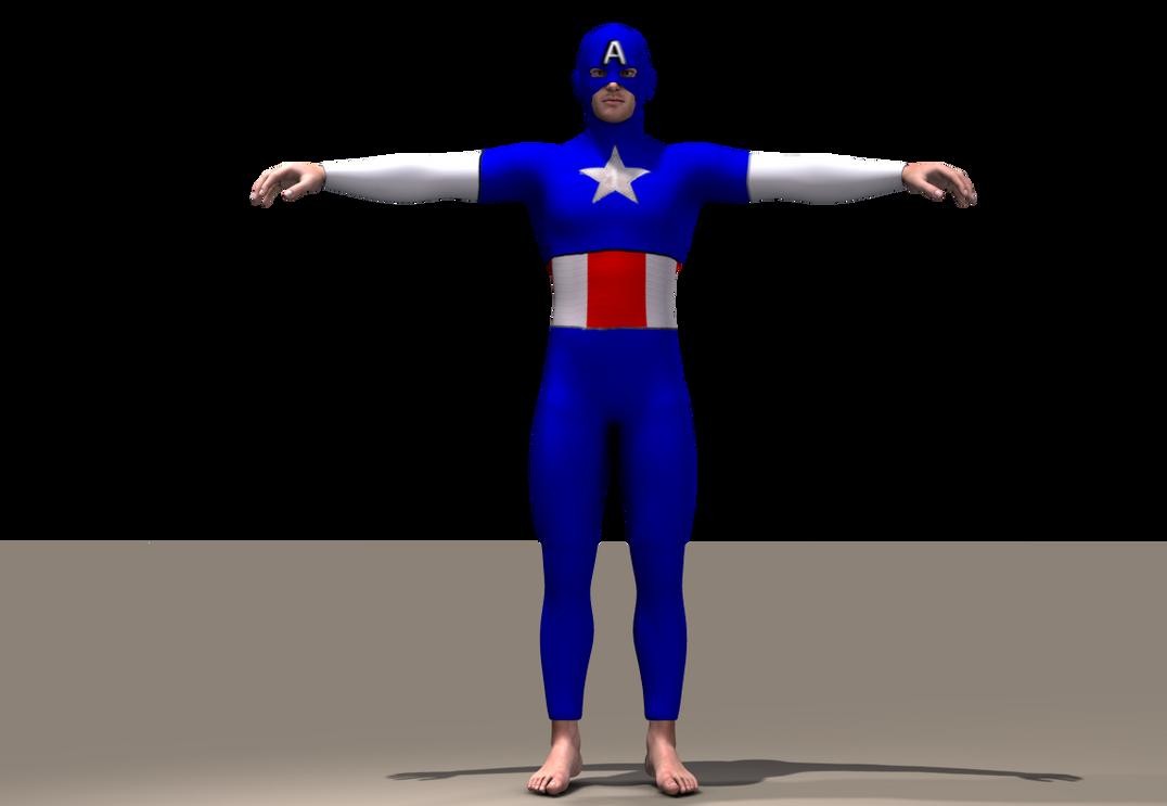 Cap America Texture x Joequick Mach 2 bodysuit by hiram67 on DeviantArt 3c14fd18509