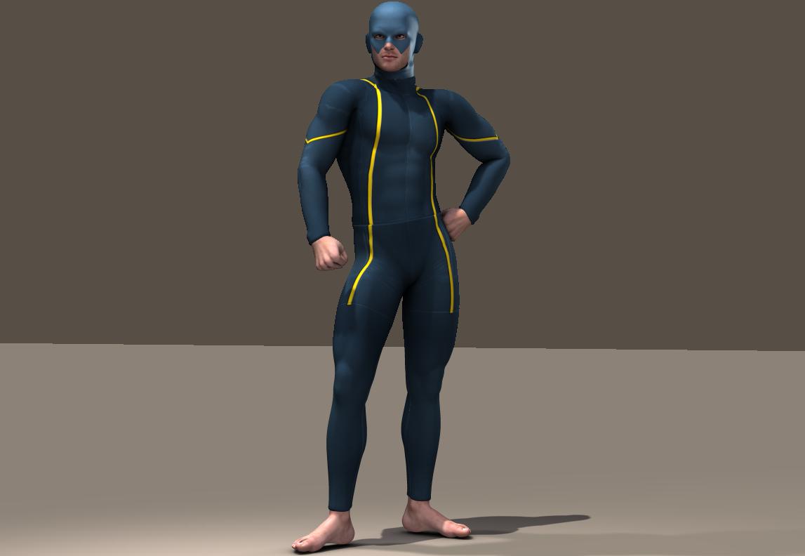 Cyclope texture x M4 Bodysuit