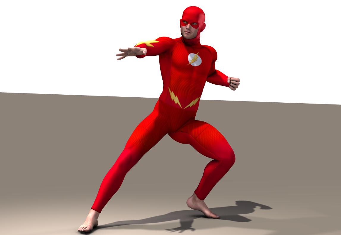 Flash texture x M4 Bodysuit