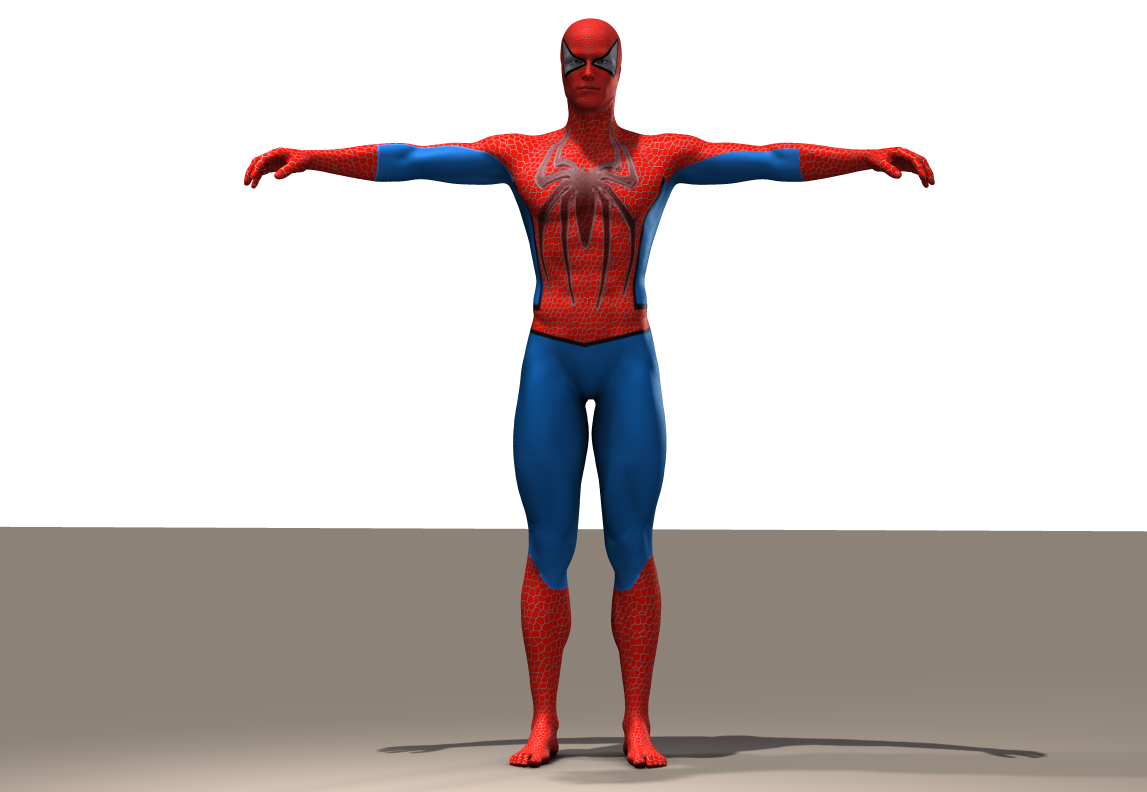 Spiderman seconskin textures for M5