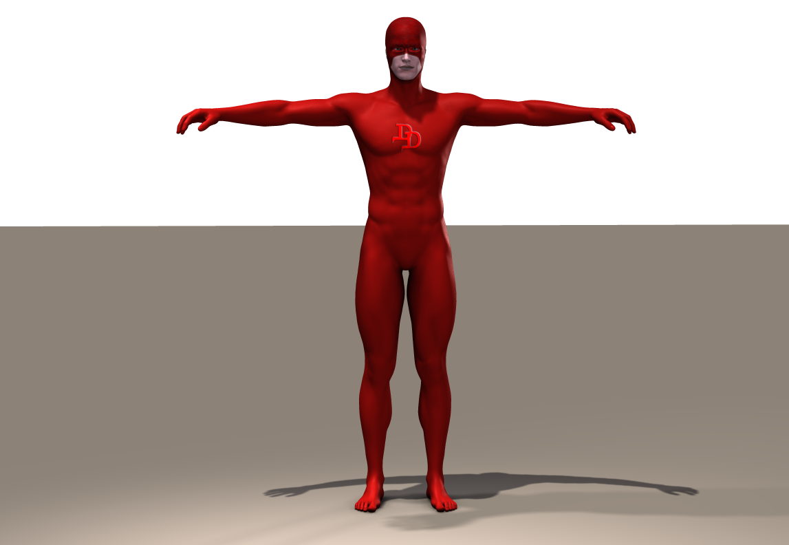 DareDevil second skin textures for M5