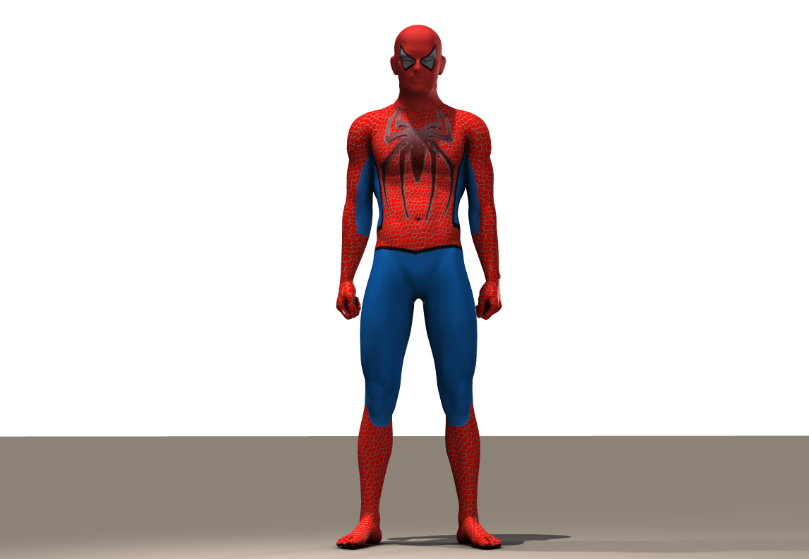 Spiderman second skin textures for M4