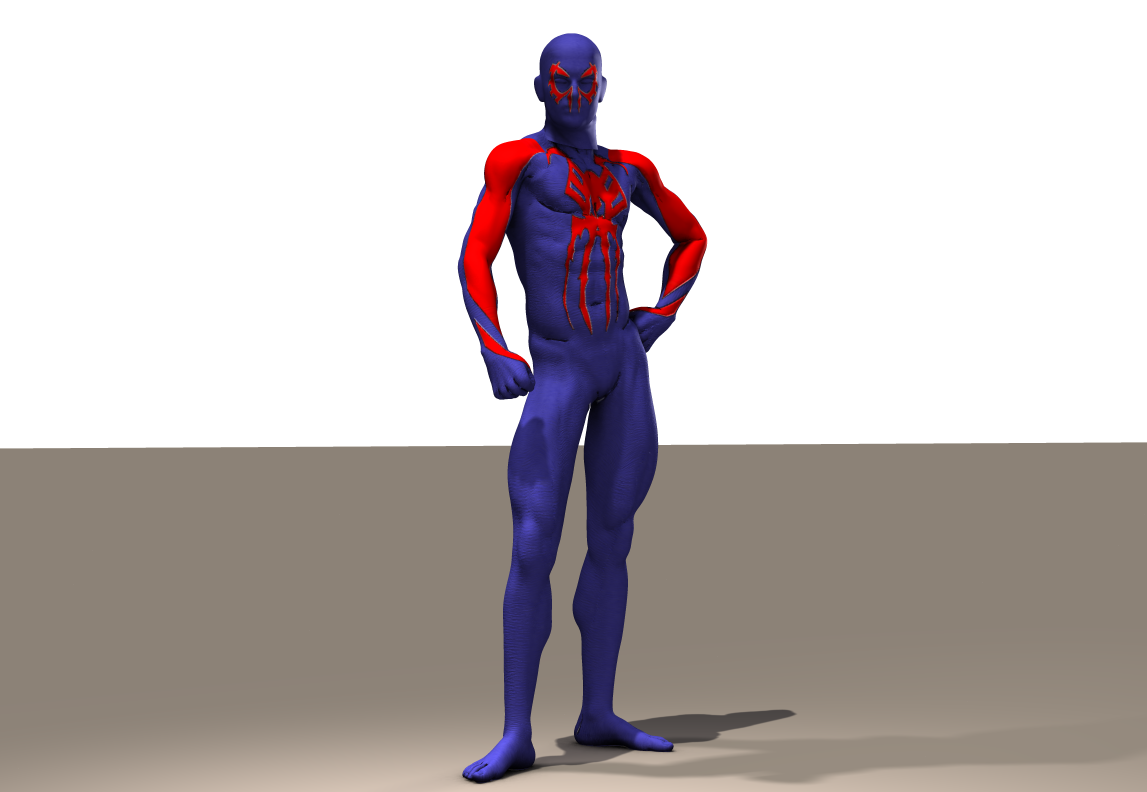 Spiderman 2099 Second Skin for M4