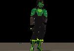 Simon Baz Green Lantern second skin texture for M4