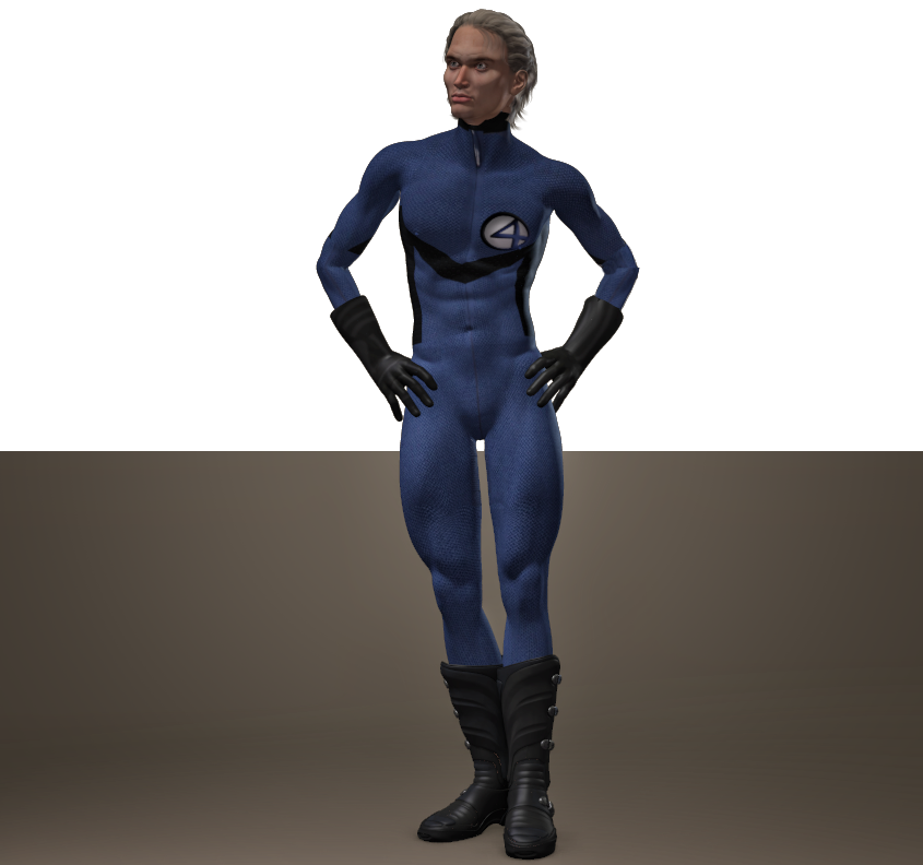 Fantastic Four second skin textures for M4