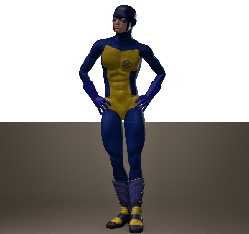 X man second skin textures for M4
