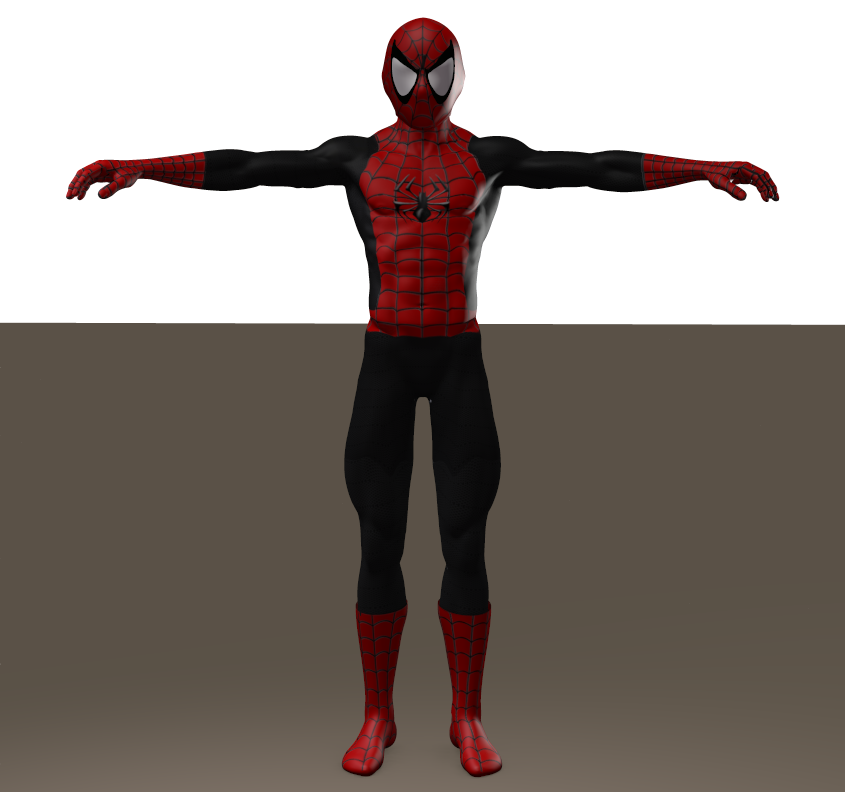 Superior Spiderman second skin textures for M4