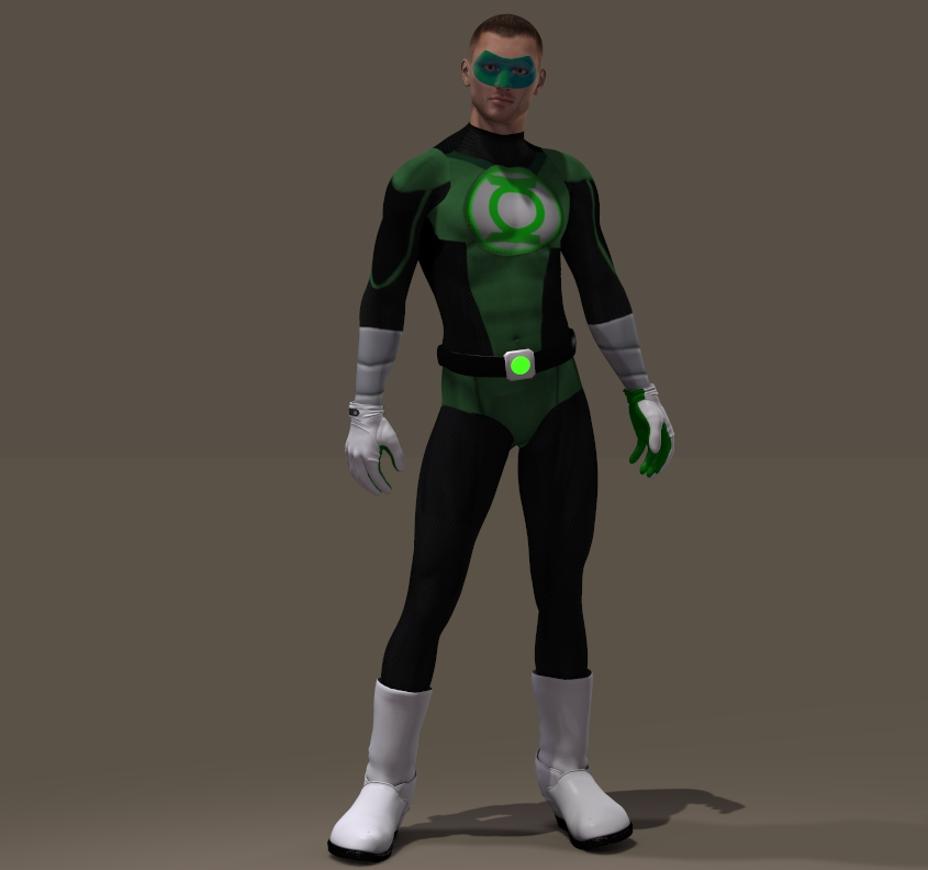 Green Lantern textures second skin for M4
