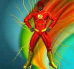 Flash new 52 suit texture