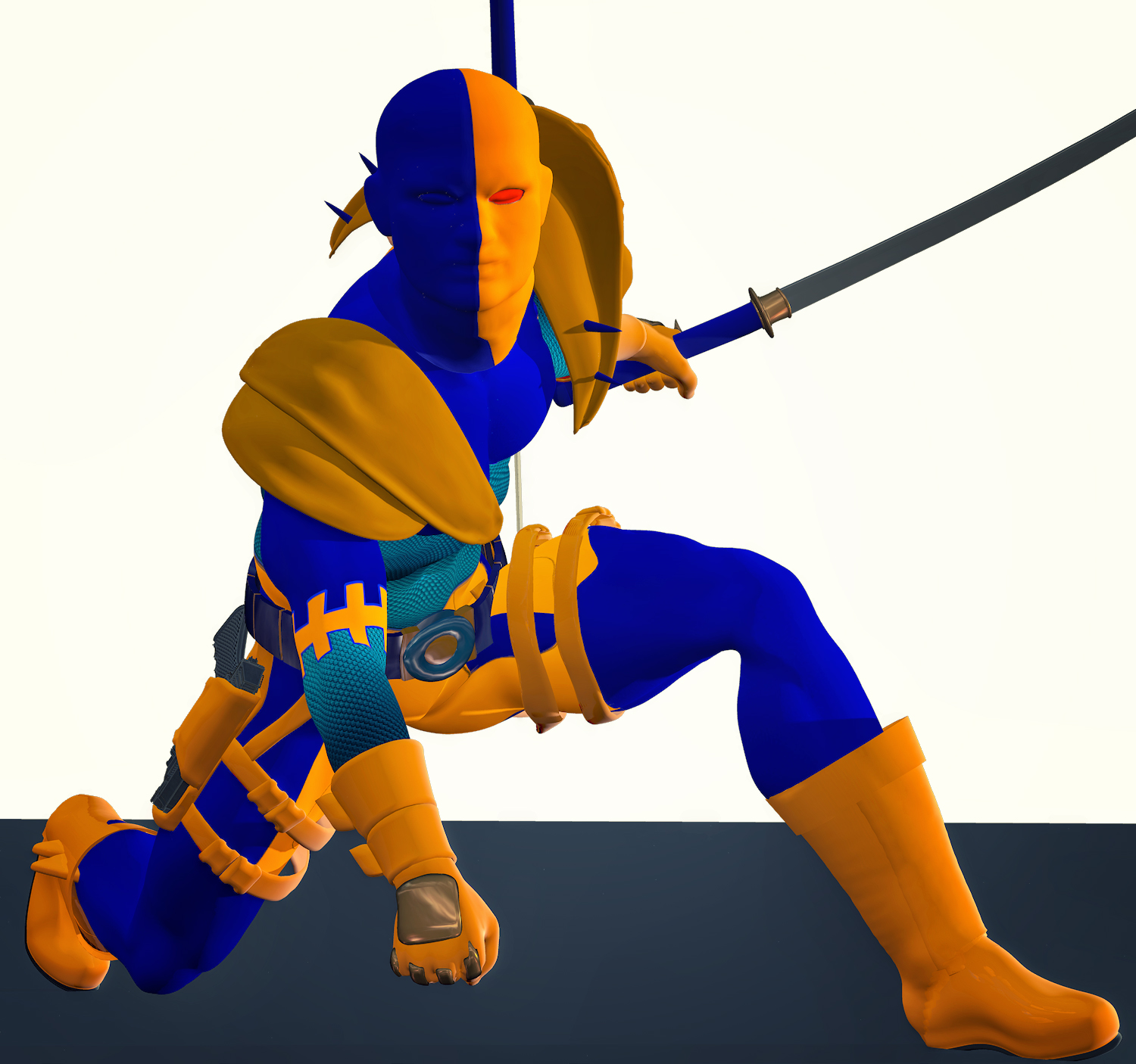 Deathstroke second skin textures for M4
