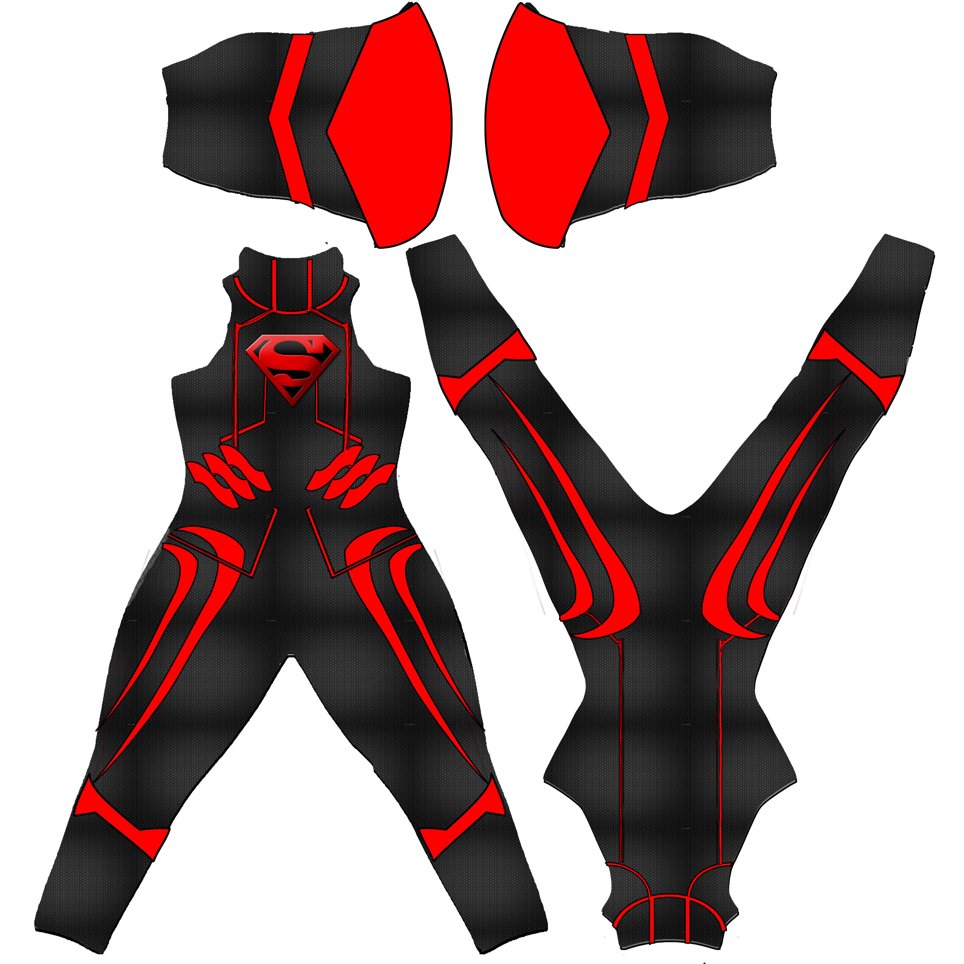 Superboy texture for Epsilon suit for M4