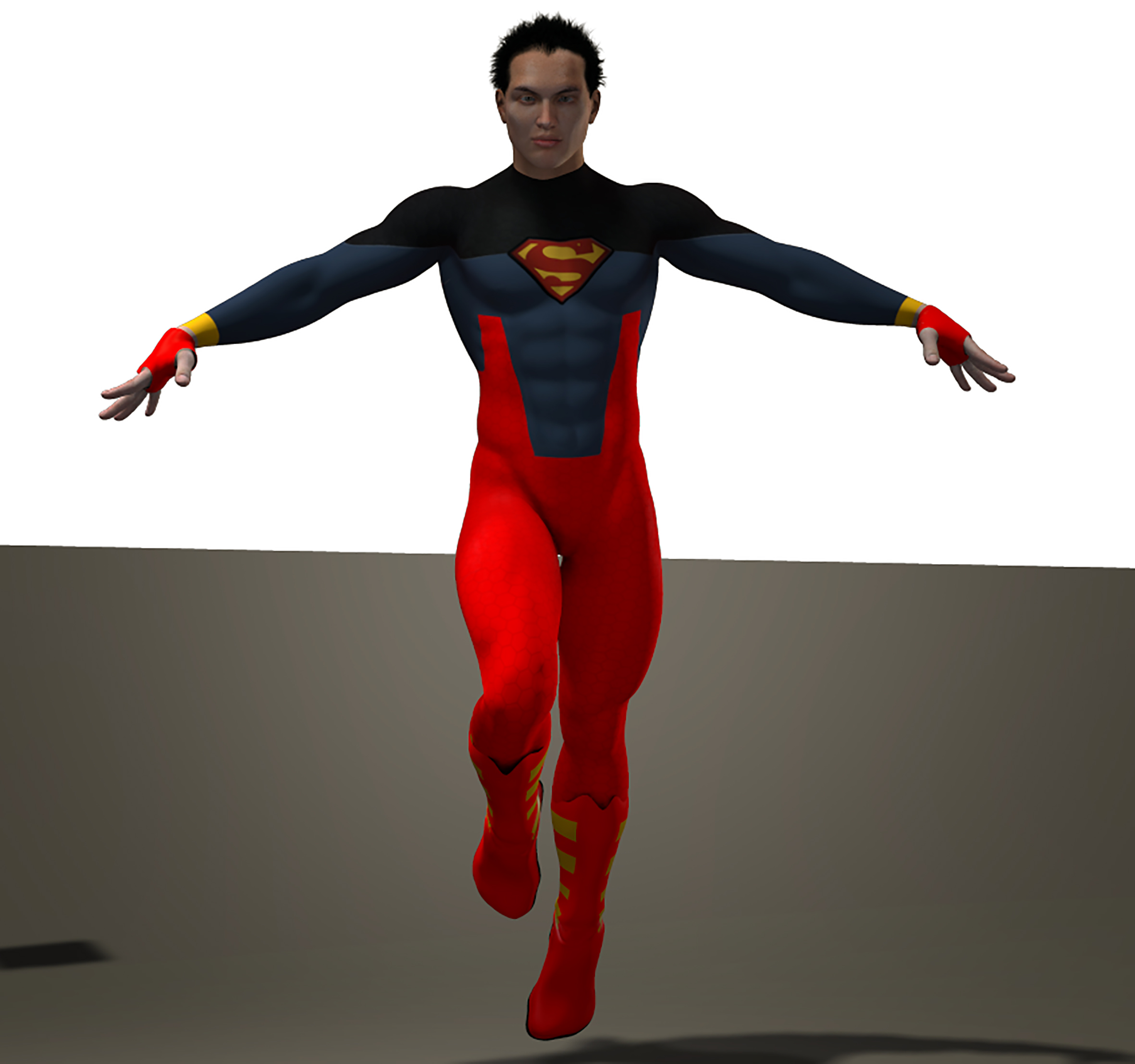 Superboy second skin textures for M4
