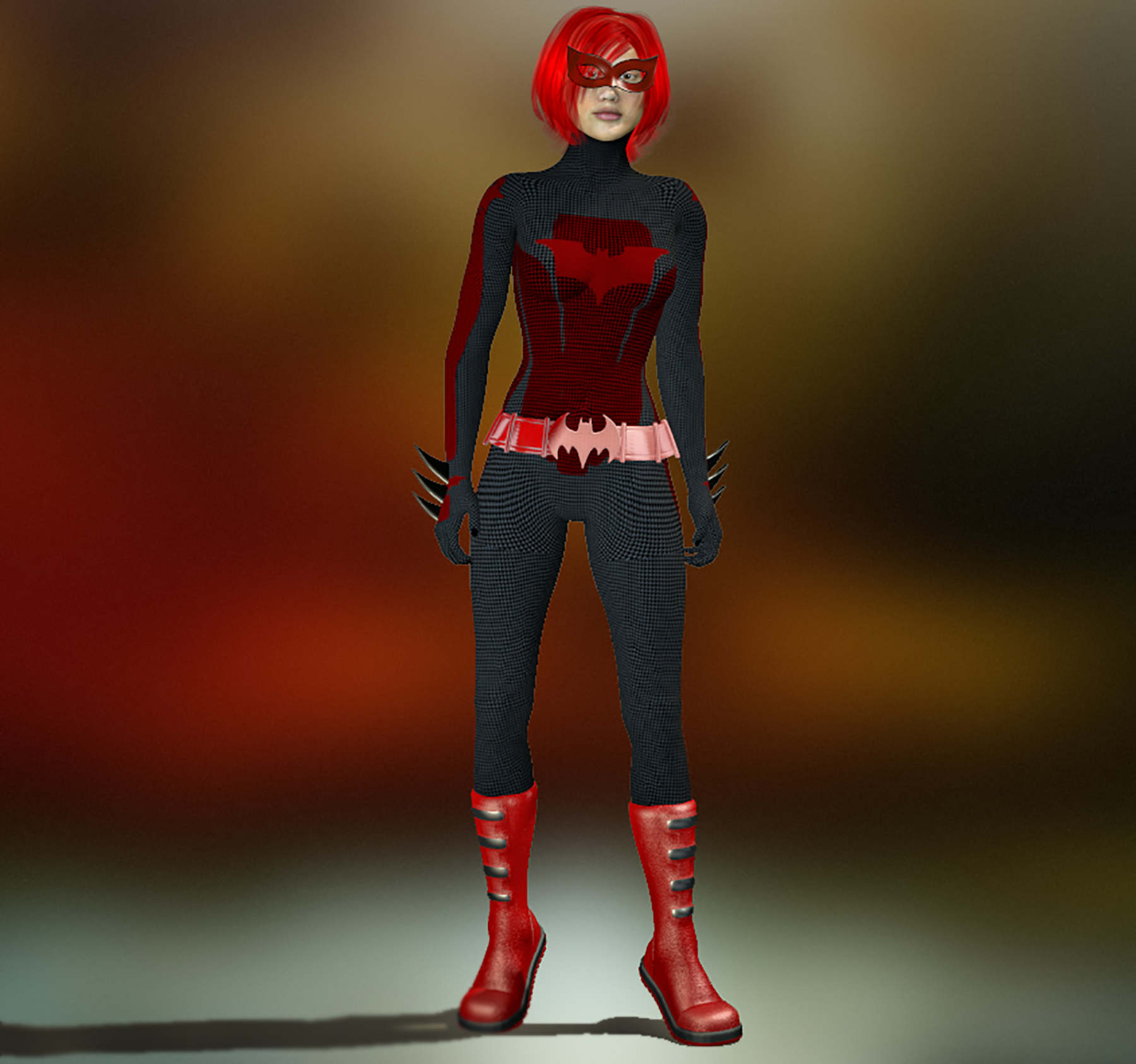 Batgirl second skin for HiveWire 3d Dawn