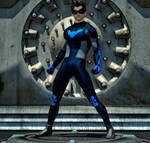 Nightwing new 2nd skin textures for M4