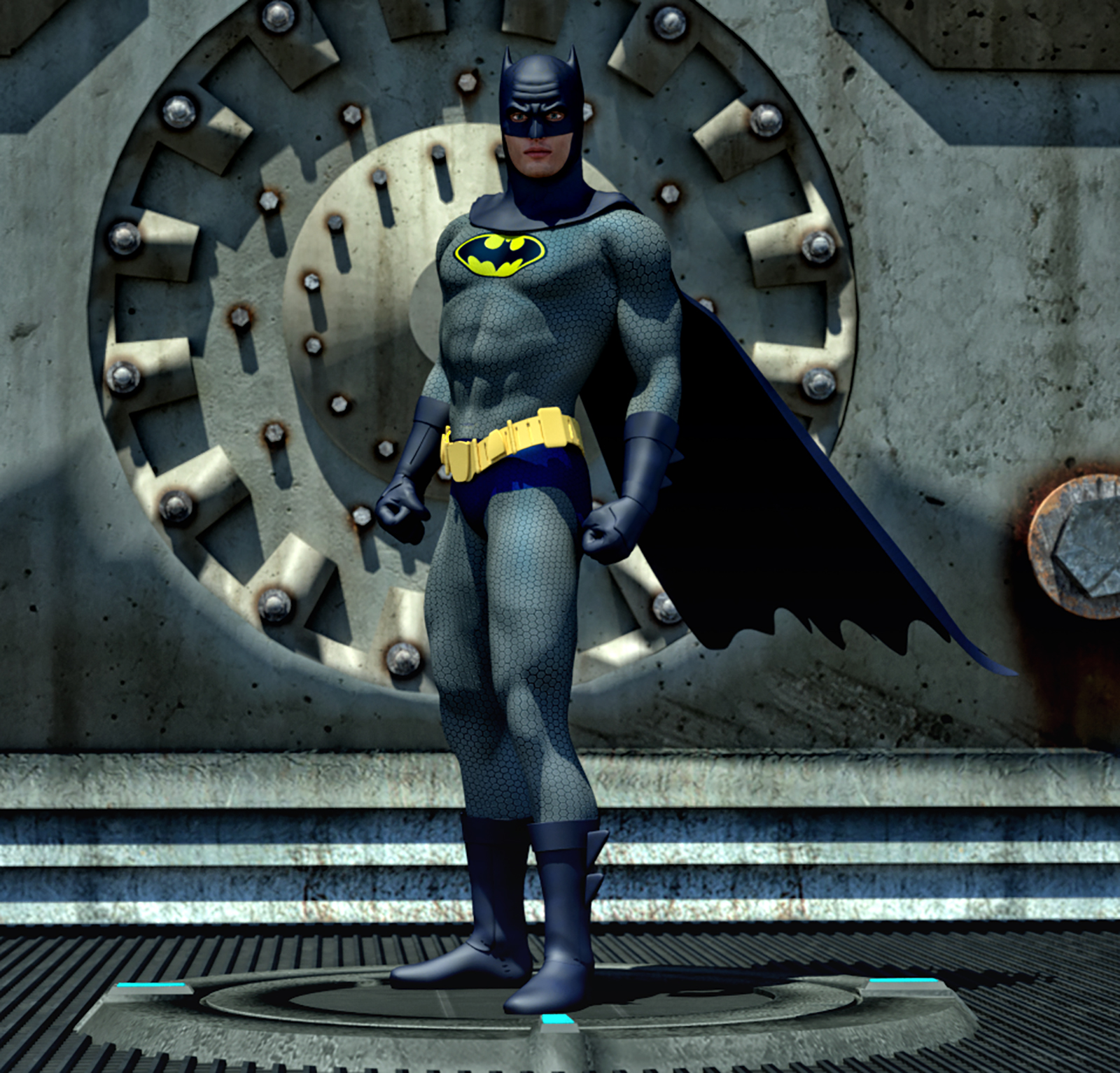 Batman 2nd skin textures for M4