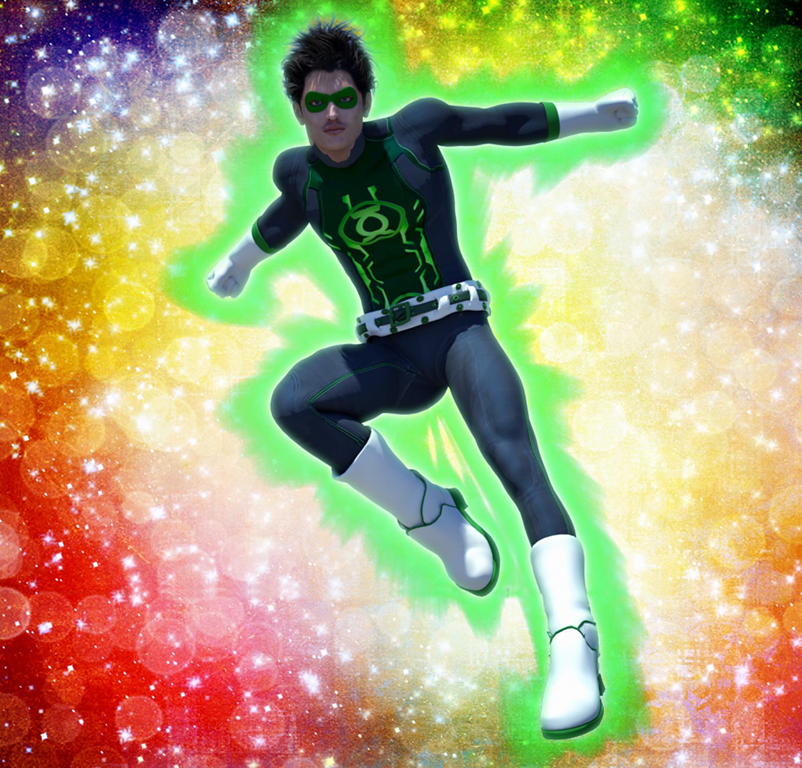 Green Lantern 2nd skin textures x M4