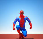 Spiderman textures for Goldenage suit