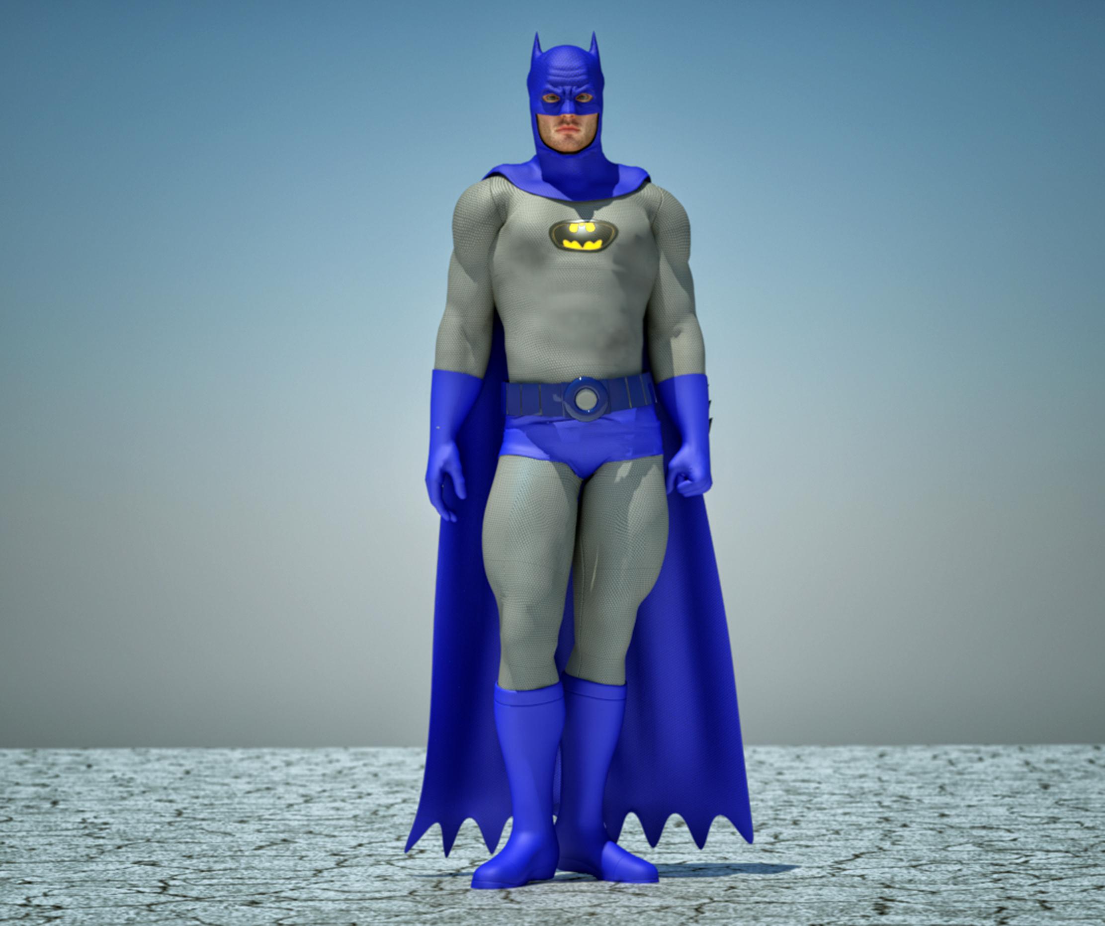 Batman classic textures 4 Goldenage suit