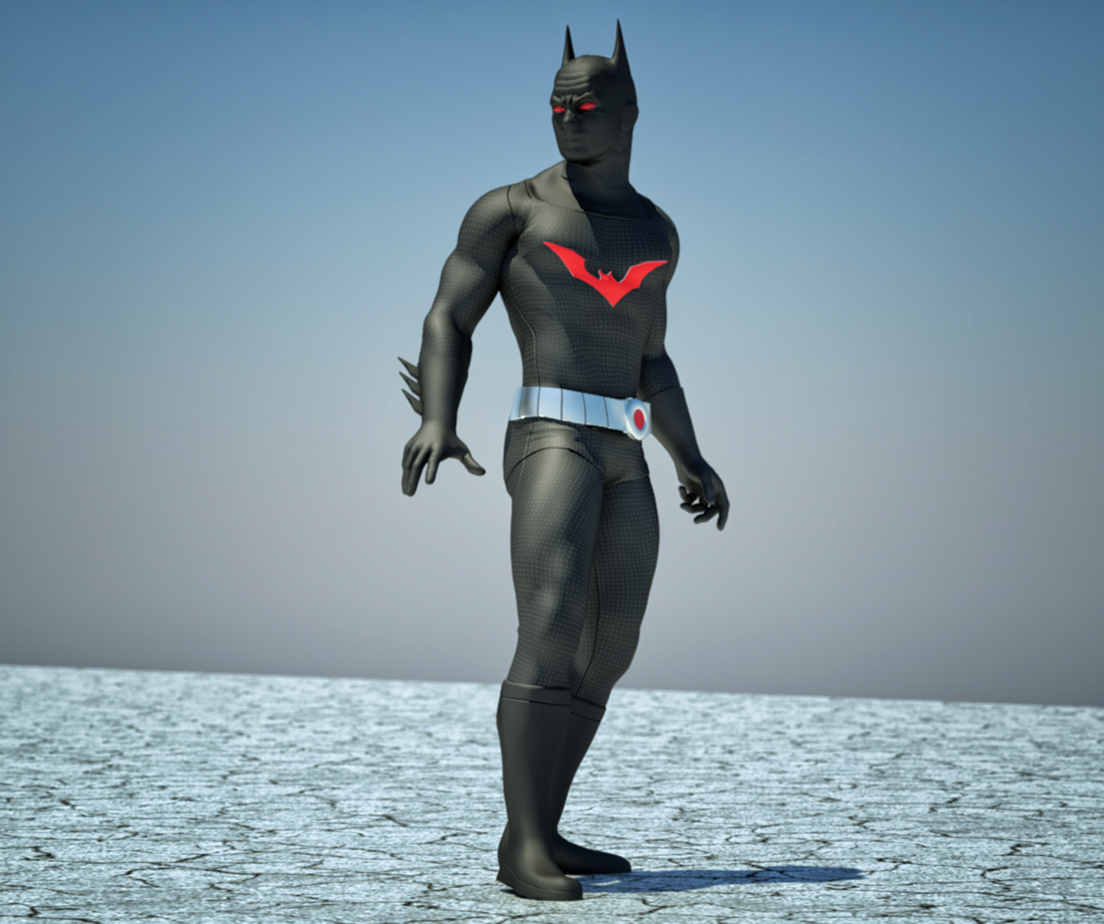 Batman Beyond textures 4 goldenage suit