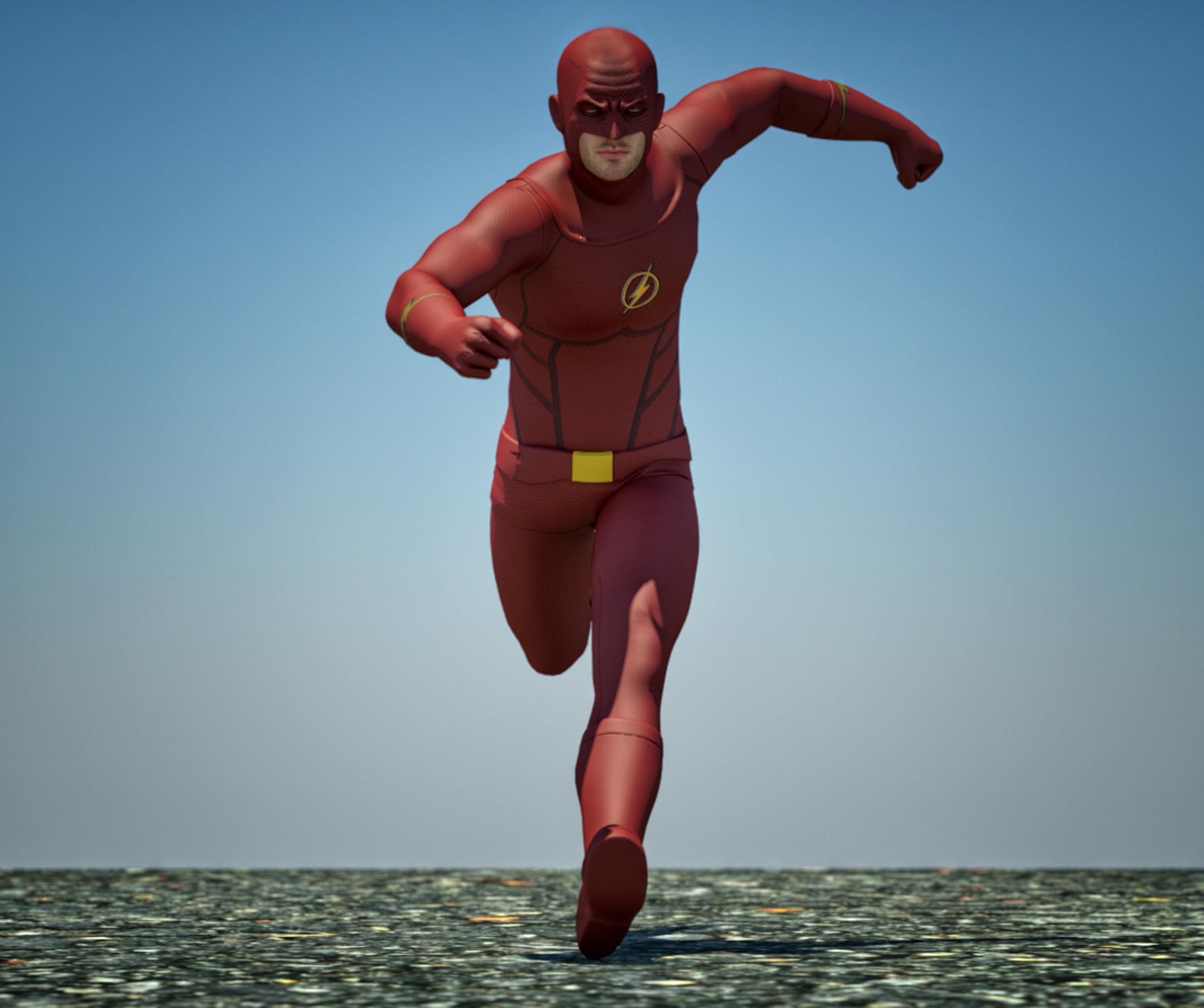 Flash textures 4 goldenage suit