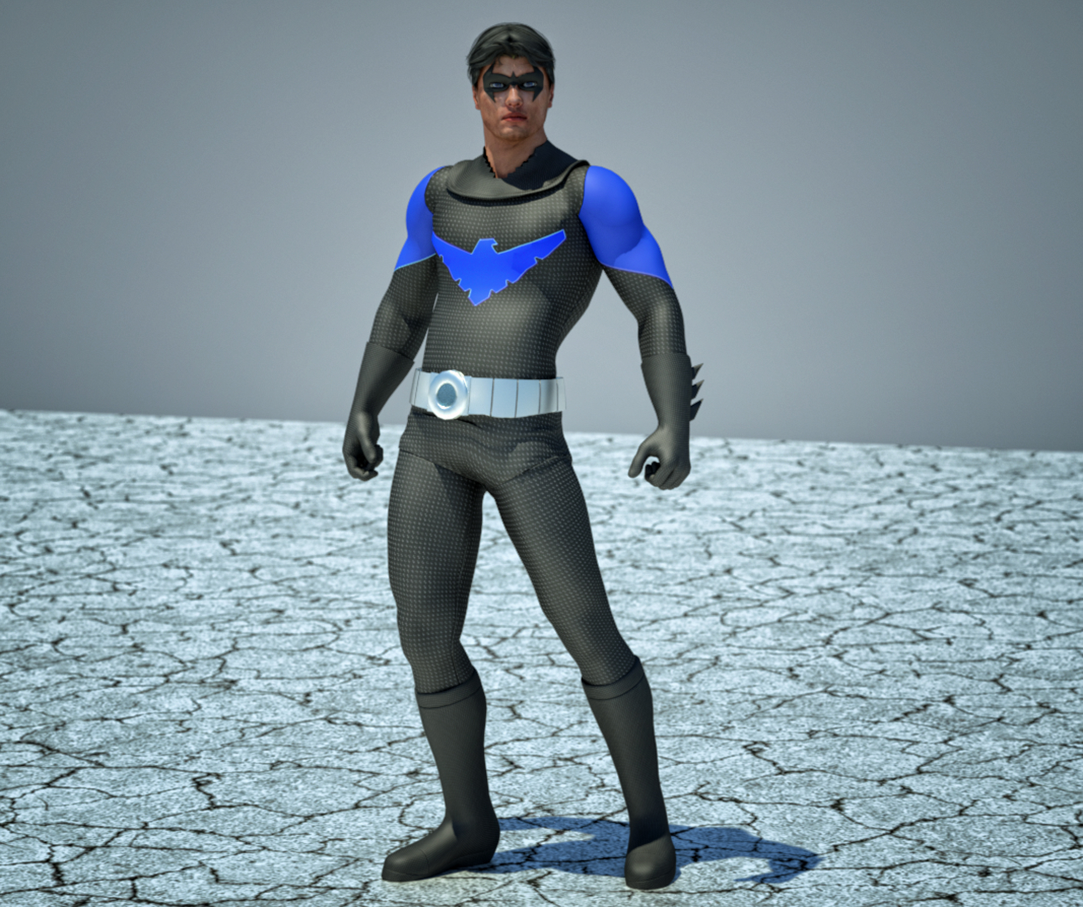 Nightwing textures 4 goldenage suit