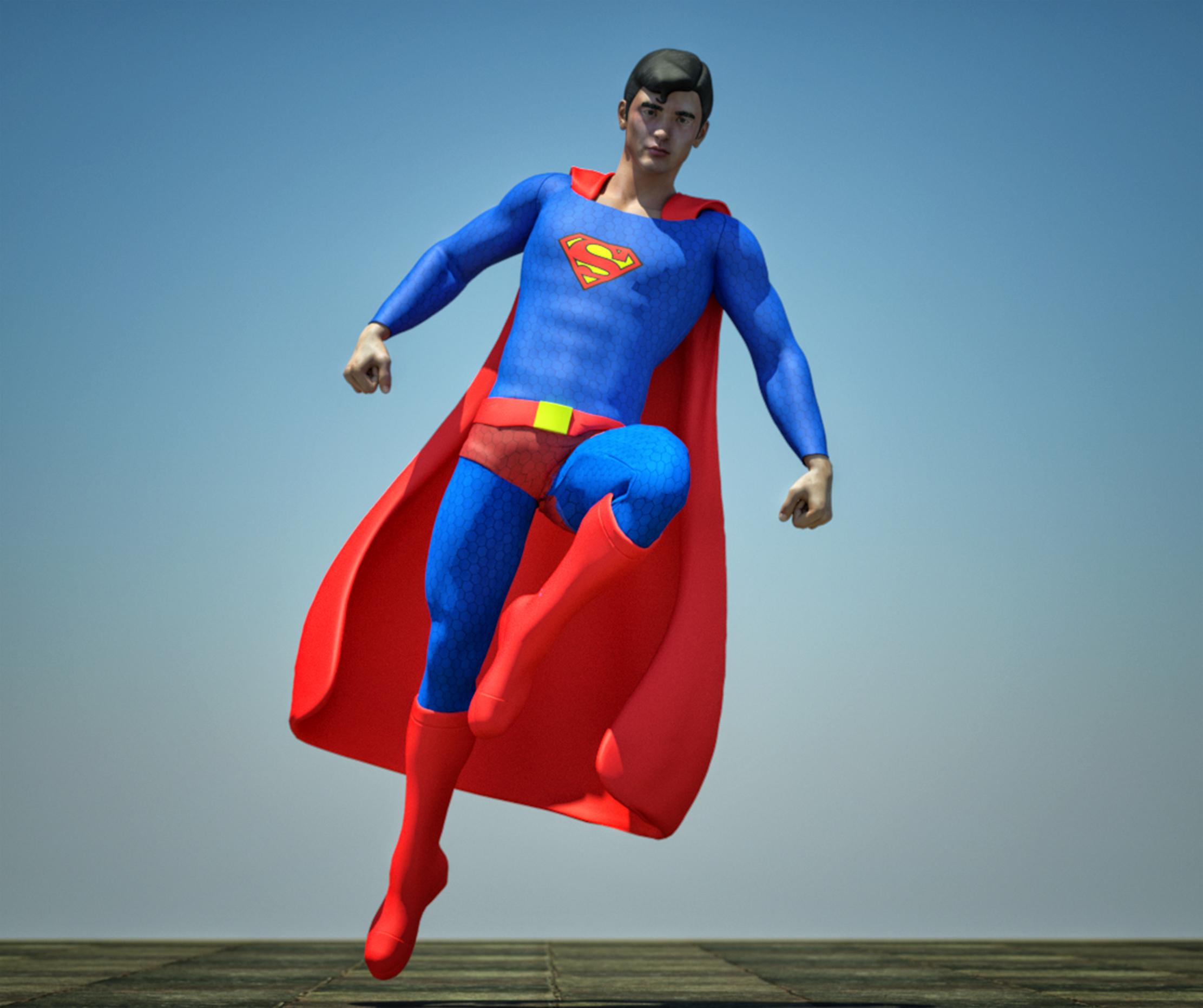 Superman 2 texture 4 goldenage suit