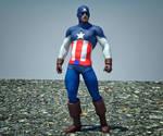 Cap America 2 textures 4 goldenage suit
