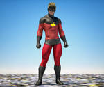 Cap Marvel textures 4 goldenage suit