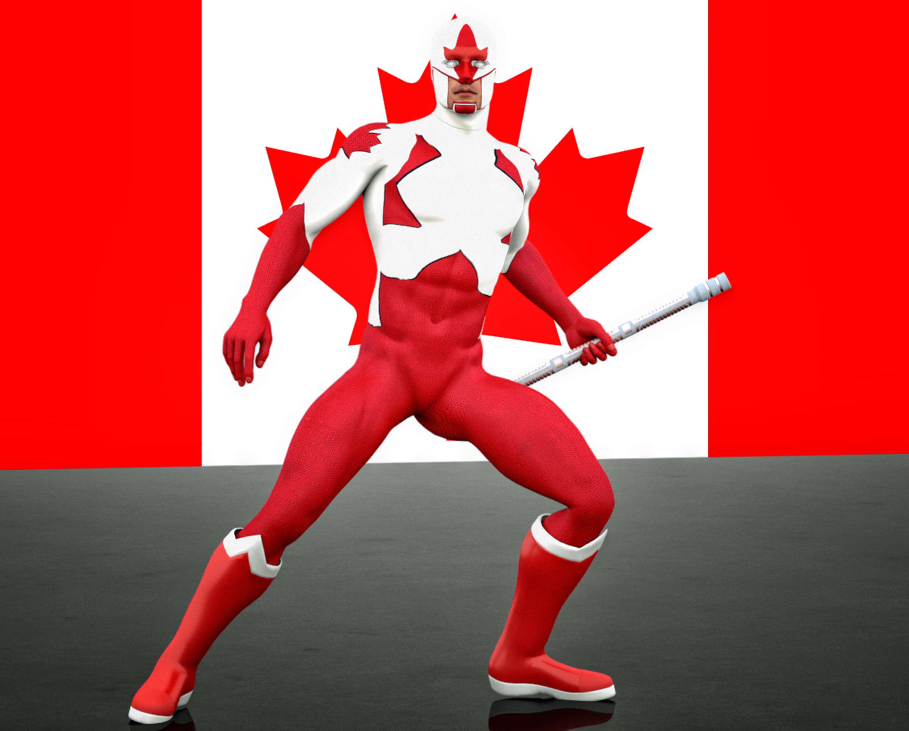 captain canuck 2nd skin textures for  M4