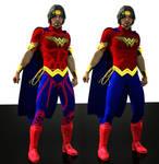 Wonder W Man bundle textures for new 52 suit