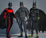 Batman bundle 2nd skin textures for M4
