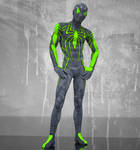 Spiderman Green 2nd skin texture for M4