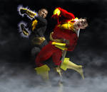 Shazam and Black Adam 2nd skin textures for M4