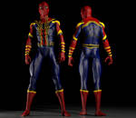Spiderman Homecoming costume 2nd skin texts for M4