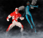 Hawk and Dove 2nd skin textures for M4 and V4