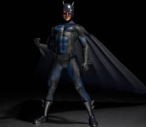Batman 2nd skin textures for M4 by hiram67